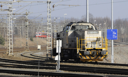 ALNABRU CONTAINERTERMINAL OSLO | TRAINSPOTTING | Foto: 0rvik
