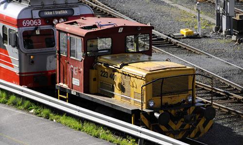NSB BM 69 & SKD 223 | Foto: 0rvik