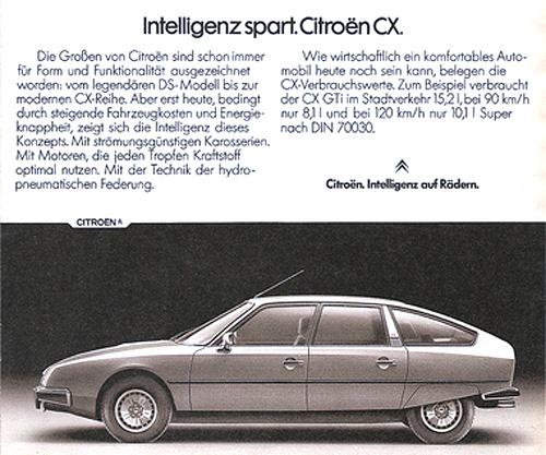 ORIGINALE CITROËN CX | Foto: Citroën