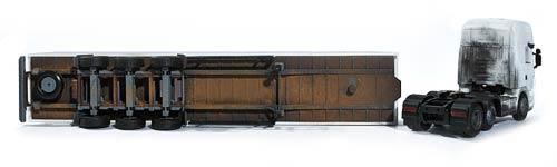 Modellbil Design - COOP Semitrailer