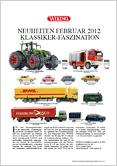 2012 WIKING | NEUHEITENPROSPEKT | NEWS ITEMS | ÅRETS NYHETER | Foto: Produsenten