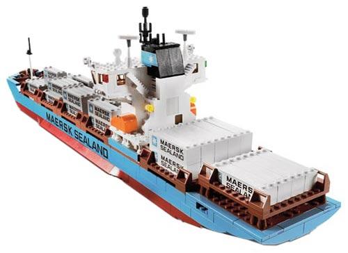 LEGO 10152 | MAERSK CONTAINER SKIP | SHIP | Foto: LEGO Danmark