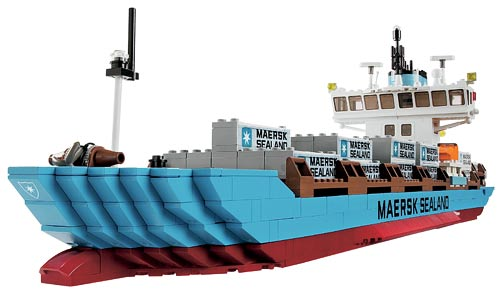 LEGO 10152 | MAERSK CONTAINER SKIP | SHIP | Foto: LEGO Danmark