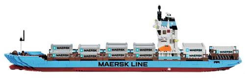 LEGO 10155 | MAERSK CONTAINER SKIP | SHIP | Foto: LEGO Danmark