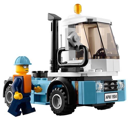 LEGO 10219 | MAERSK CONTAINERTOG | TRAIN | Foto: LEGO Danmark