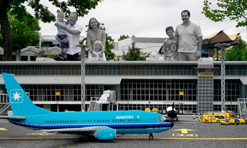 LEGOLAND |  MAERSK FLY | PLANE | Foto: LEGO Danmark