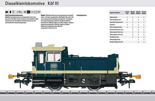 MAERKLIN 55333 | KOF III | Foto: Maerklin