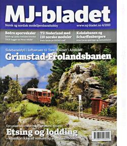 MJ-BLADET | NORSK OG NORDISK MODELLJERNBANEHOBBY | Foto: 0rvik