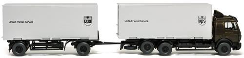 ELECTROTREN LC 21007 | UNITED PARCEL SERVICE MERCEDES BENZ TRUCK | Foto: 0rvik