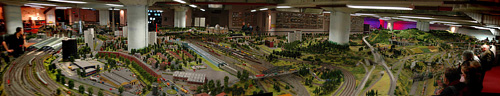 Modell av Berlin - Model Railroad - Modelleisenbahn