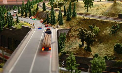 Modell av Berlin - Model Railroad - Modelleisenbahn