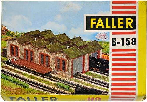 158 FALLER | LOKSCHUPPEN | TRAIN SHED | LOKOMOTIVSTALL | Foto: 0rvik