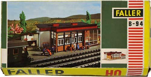 94 FALLER | VILLIER | BAHNHOFSTATION | TRAIN STATION | TOGSTASJON | Foto: 0rvik