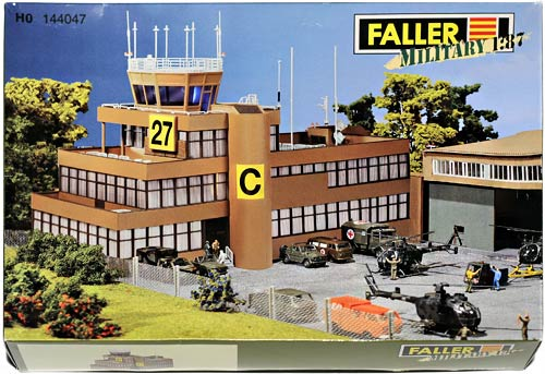 144047 FALLER | MILITARY | FLUGLEITNUNGTOWER | AIR TRAFFIC TOWER | KONTROLLTÅRN FOR FLYGELEDER | Foto: 0rvik