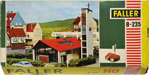 235 FALLER | H0 GEBÄUDE FÜR DER STADT MODELLBAHN | HO BUILDINGS FOR AN URBAN MODEL RAILROAD | 1:87 BY-BYGNINGER TIL MODELLJERNBANEN | Foto: 0rvik