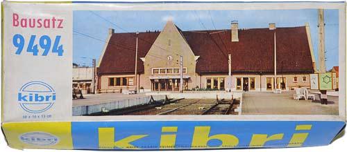9494 KIBRI | KNOKKE | BAHNHOFSTATION | TRAIN STATION | TOGSTASJON | Foto: 0rvik