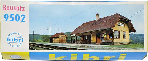 9502 KIBRI | IDSELSHAUSEN | BAHNHOFSTATION | TRAIN STATION | TOGSTASJON | Foto: 0rvik