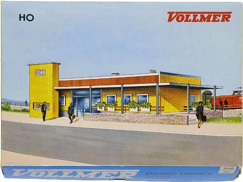 3550 VOLLMER | EMSWALD | BAHNHOFSTATION | TRAIN STATION | TOGSTASJON | Foto: 0rvik