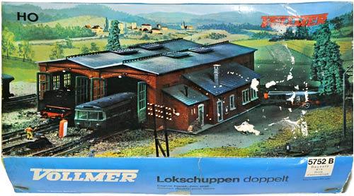 5752 VOLLMER  | DOBBELTLOKSCHUPPEN | TWIN ENGINE HALL | DOBBEL LOKSTALL | Foto: 0rvik
