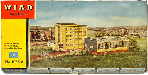 1055 WIAD | H0 GEBÄUDE FÜR DER STADT MODELLBAHN | HO BUILDINGS FOR AN URBAN MODEL RAILROAD | 1:87 BY-BYGNINGER TIL MODELLJERNBANEN | Foto: 0rvik