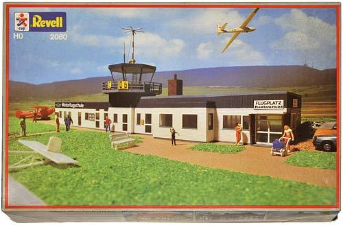 REVELL 2080 | FLUGPLATZ UND FLUGSCHULE | AIRPORT AND FLYING SCHOOL | FLYPLASS MED FLYSKOLE | Foto: 0rvik