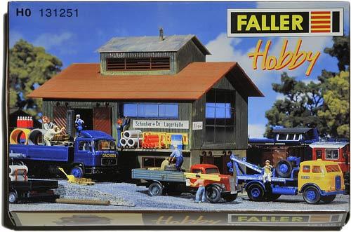 131251 FALLER | SCHENKER | LAGERHALLE | STORE HOUSE | LAGERBYGG | Foto: 0rvik