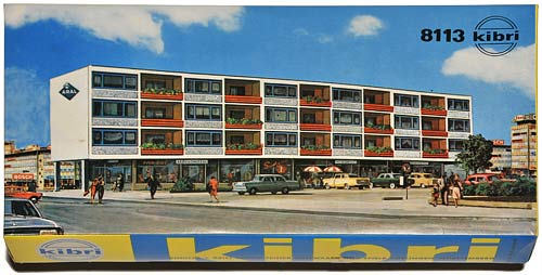 KIBRI 8113 | WOHN- UND GESCHÄFTSBLOCK | LIVING BLOCK | BOLIGBLOKK | Foto: 0rvik