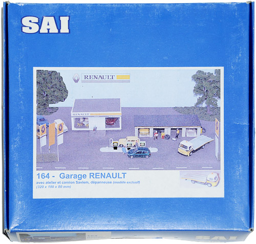 MODELLBYGGESETT | MAQUETTES SAI 164 - GARAGE RENAULT SHOWROOM STATION SERVICE HO