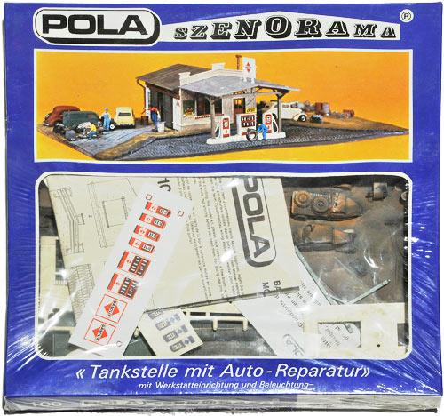 100 POLA H0 SZENORAMA | TANKSTELLE MIT AUTO-REPARATUR | Foto: 0rvik
