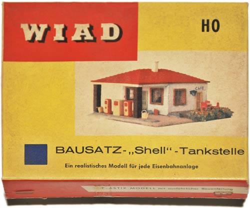 WIAD 1062 | BAUSATZEN | SHELL TANKSTELLE | MINIBYGGESETT STASJON | Foto: 0rvik