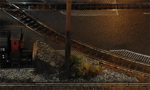 MODELLJERNBANEN BEGYNNER Å TA FORM - MODEL RAILWAY UNDER CONSTRUCTION - MODELLBAHN IM BAU