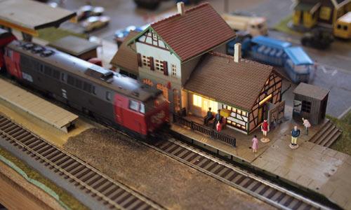 LOKAL MODELLTOGMESSE | LOCAL MODEL RAILWAY EXHIBITION | EINE LOKALE MODELLEISENBAHNAUSSTELLUNG | Foto: 0rvik