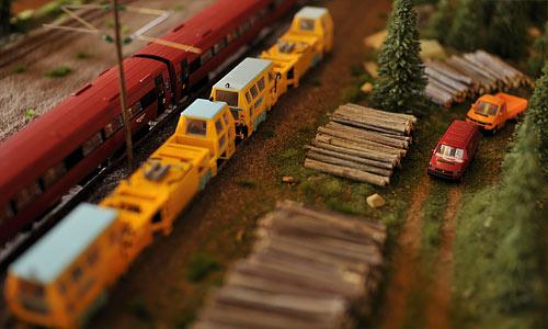 Modelljernbanemesse i Kråkstad samfunnshus