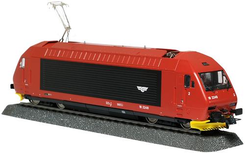 ROCO 69503 | NSB EL18 2248 | Eingeschlossen Details nicht montiert | Included details not mounted | Foto: 0rvik