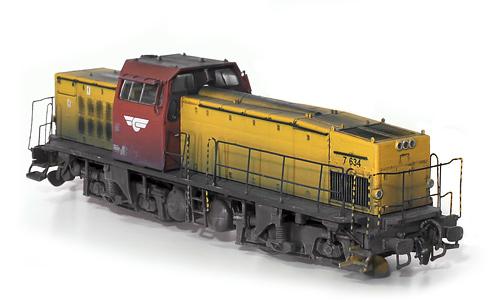 JECO T44 SJ 349 - MORTEN HAGEN NSB Di 7