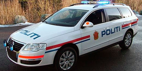 NORSK POLITIBIL | NORWEGISCHEN POLIZEIFAHRZEUGE| NORWEGIAN POLICE CAR| Foto: Bilrevyen