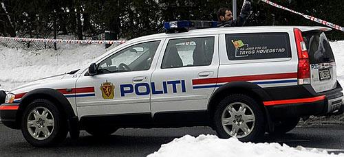 NORSK POLITIBIL | NORWEGISCHEN POLIZEIFAHRZEUGE| NORWEGIAN POLICE CAR| Foto: TV2/Scanpix