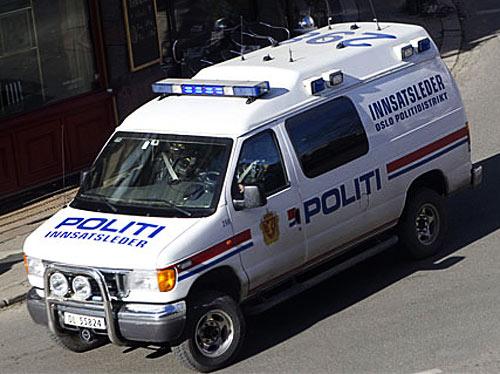 NORSK POLITIBIL | NORWEGISCHEN POLIZEIFAHRZEUGE| NORWEGIAN POLICE CAR| Foto: Verdens Gang