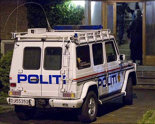 NORSK POLITIBIL | NORWEGISCHEN POLIZEIFAHRZEUGE| NORWEGIAN POLICE CAR| Foto: Østlands-Posten