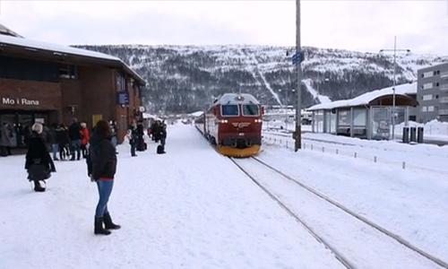 NORDLANDSBANEN MINUTT FOR MINUTT | ZEHN-STUNDEN-DOKUMENTARFILM | TEN-HOUR DOCUMENTARY | 10-TIMERS SENDING | Foto: NRK.NO