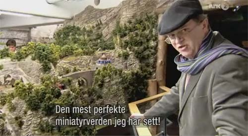 BBC | PAUL MERTON | DOKUMENTARSERIE PÅ NRK | DOCUMENTARY WITH A MODEL RAILROAD | DOKUMENTARFILM ÜBER MODELLEISENBAHN | Video: BBC