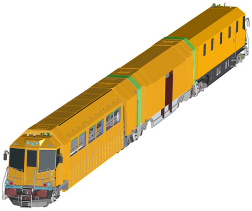 Robel | Wartungszug | Maintenance train | Vedlikeholdstoget | Jernbaneverket | Foto: S.BƖakstad