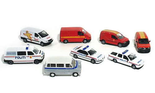 Diplom IS, Posten, Politet, Bergen politikammer, og SAS Minibuss