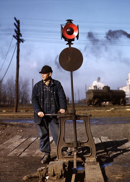 HISTORISKE FOTOGRAFIER FRA AMERIKANSK JERNBANE